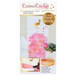 Advantus - Cosmo Cricket - Just Add Watercolor Collection - 5 x 10 DIY Decor - Flamingo