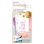 Advantus - Cosmo Cricket - Just Add Watercolor Collection - Blank Tags