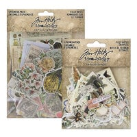 Idea-ology - Tim Holtz - Ephemera Pack and Ephemera Snippets - Field Notes Bundle