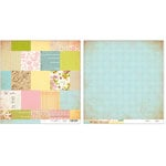 Advantus - The Girls Paperie - Paper Girl Collection - 12 x 12 Double Sided Paper - Vintage Patchwork