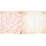 Advantus - The Girls Paperie - Paper Girl Collection - 12 x 12 Double Sided Paper - Shabby Flower