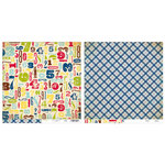 Advantus - The Girls Paperie - On Holiday Collection - 12 x 12 Double Sided Paper - Days Away