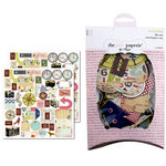 The Girls Paperie - On Holiday Collection - Die Cuts - Travel, CLEARANCE