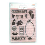 The Girls Paperie - Jubilee Collection - Clear Acrylic Stamps - Jubilee