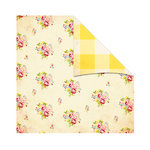 The Girls Paperie - Kitch Collection - 12 x 12 Double Sided Paper - Rose Bouquet, CLEARANCE