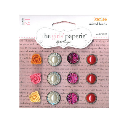 The Girls Paperie - Mix and Match Collection - Mixed Brads - Karlee