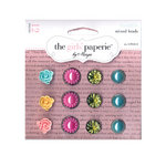 The Girls Paperie - Mix and Match Collection - Mixed Brads - Maggie