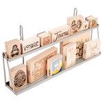 Advantus - Cropper Hopper - Lisa & Becky - Wire Rail System - 2-Tier Shelf, CLEARANCE