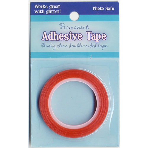 Advantus - Sulyn Industries - Vintage and Sparkle Glitter - Red Liner Tape - 1 Inch x 5 Yards