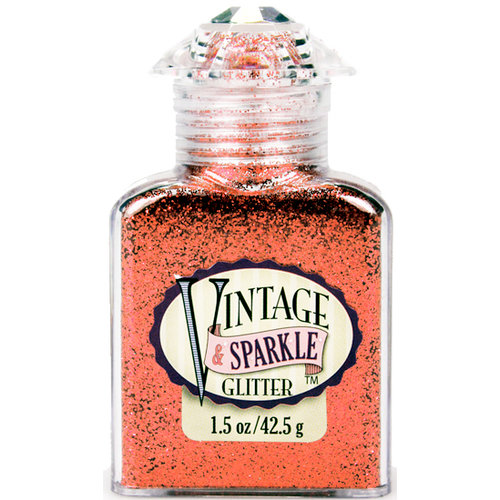 Advantus - Sulyn Industries - Vintage and Sparkle Glitter - Love Letter