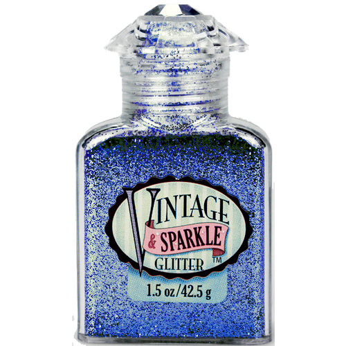Advantus - Sulyn Industries - Vintage and Sparkle Glitter - Malibu Blue