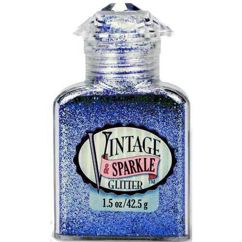Advantus - Sulyn Industries - Vintage and Sparkle Glitter - Malibu Blue