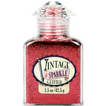 Advantus - Sulyn Industries - Vintage and Sparkle Glitter - Rosebud