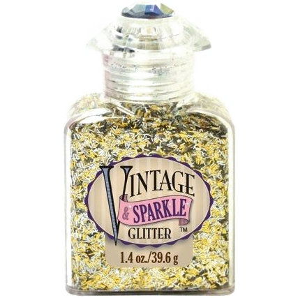 Advantus - Sulyn Industries - Vintage and Sparkle Tinsel Glitter - Tinsel Town