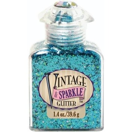 Advantus - Sulyn Industries - Vintage and Sparkle Tinsel Glitter - Bathing Beauty