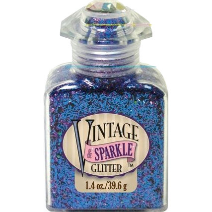 Advantus - Sulyn Industries - Vintage and Sparkle Tinsel Glitter - So Divine