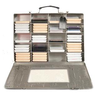 Advantus - Cropper Hopper - Tim Holtz - Stamp Pad Case - Tin