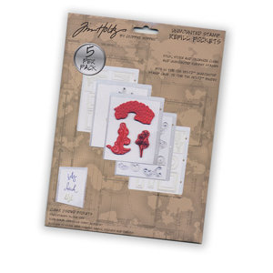 Tim Holtz - Unmounted Stamp Refill Pockets