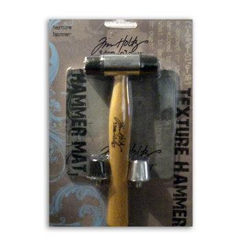 Advantus - Cropper Hopper - Tim Holtz - Tools - Textured Hammer - Includes Interchangable Tips