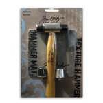 Advantus - Cropper Hopper - Tim Holtz - Tools - Textured Hammer - Includes Interchangable Tips