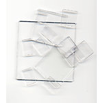 Advantus - Cropper Hopper - Tim Holtz - Fragments - Clear Tiles