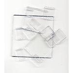 Advantus - Cropper Hopper - Tim Holtz - Fragments - Clear Tiles