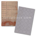 Advantus - Cropper Hopper - Tim Holtz - Grungeboard - Shapes - Plain