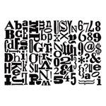 Advantus - Cropper Hopper - Tim Holtz - Idea-ology - Mask - Ransom Alphabet