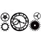 Advantus - Cropper Hopper - Tim Holtz - Idea-ology - Mask - Timeworks
