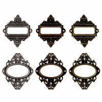 Advantus - Tim Holtz - Idea-ology - Ornate Plates