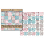 Advantus - Tim Holtz - Idea-ology Collection - 12 x 12 Paper Stash - Vintage Shabby