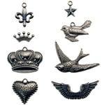 Advantus - Tim Holtz - Idea-ology Collection - Adornments - Metal Charms