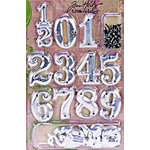 Advantus - Tim Holtz - Idea-ology Collection - Numerals - Metal Numbers