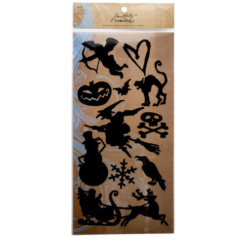Advantus - Tim Holtz - Idea-ology Collection - Mask - Seasonal
