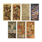 Advantus - Tim Holtz - Idea-ology Collection - Salvage Stickers - Lost and Found