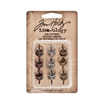 Tim Holtz - Idea-ology Collection - Ring Fasteners