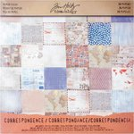 Advantus - Tim Holtz - Idea-ology Collection - 12 x 12 Paper Stash - Correspondence