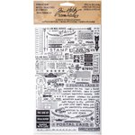 Advantus - Tim Holtz - Idea-ology Collection - Remnant Rubs - Special Delivery