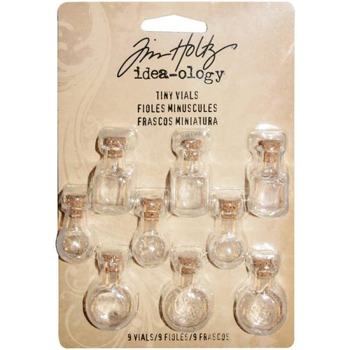 Advantus - Tim Holtz - Idea-ology Collection - Tiny Vials