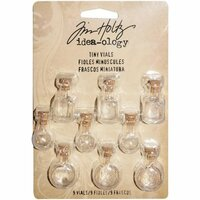 Advantus - Tim Holtz - Idea-ology Collection - Tiny Vials