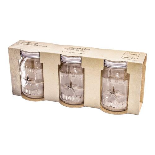 Advantus - Tim Holtz - Idea-ology Collection - Mini Mason Jars