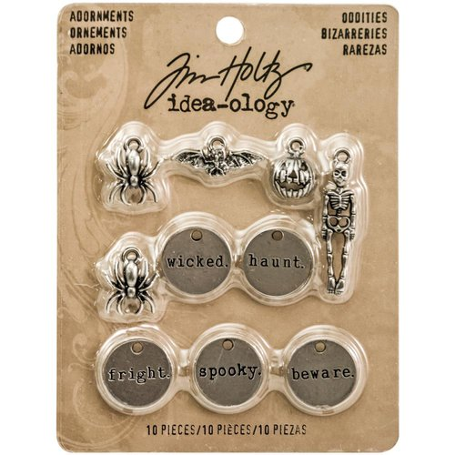 Advantus - Tim Holtz - Idea-ology Collection - Adornments - Oddities