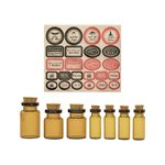 Advantus - Tim Holtz - Idea-ology Collection - Apothecary Vials