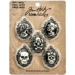 Advantus - Tim Holtz - Idea-ology Collection - Halloween - Crypt Cameos