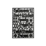Advantus - Tim Holtz - Idea-ology Collection - Halloween - Alpha Parts - Wicked