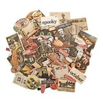 Advantus - Tim Holtz - Idea-ology Collection - Halloween - Ephemera Pack - Frightful
