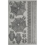 Advantus - Tim Holtz - Idea-ology Collection - Halloween - Industrious Stickers - Gothic