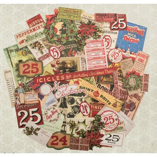 Advantus - Tim Holtz - Idea-ology Collection - Christmas - Ephemera - Festive