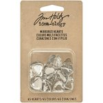 Advantus - Tim Holtz - Idea-ology Collection - Mirrored Hearts