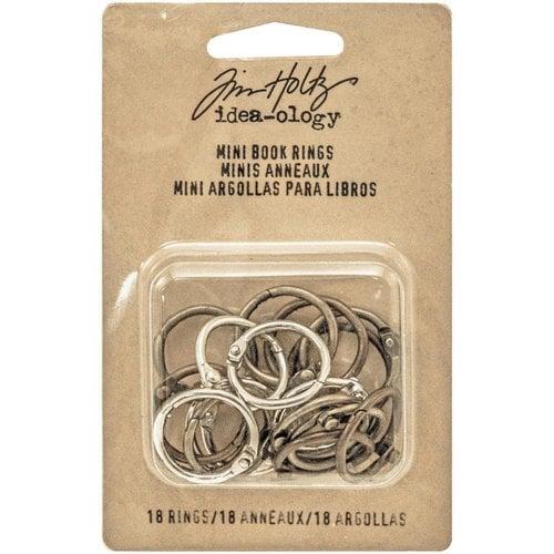 Idea-ology - Tim Holtz - Mini Book Rings